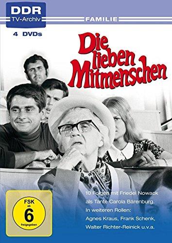 Die lieben Mitmenschen (DDR TV-Archiv) (4 DVDs)