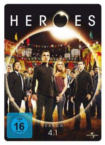 Heroes Staffel 4.1 (3 DVDs, Steelbook)