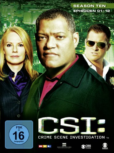 CSI Season 10 / Box-Set 1 (3 DVDs)