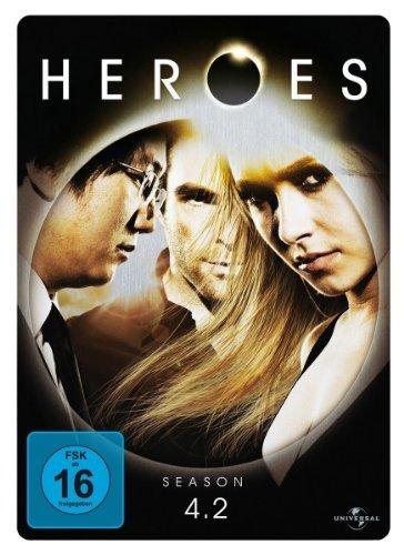 Heroes Staffel 4.2 (3 DVDs, Steelbook)