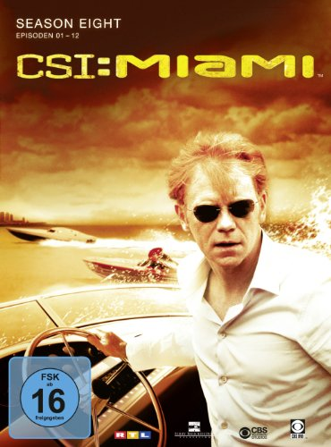 CSI: Miami Season  8.1 (3 DVDs)