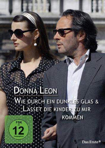 Donna Leon: Dunkles Glas/Lasset die Kinder zu mir kommen