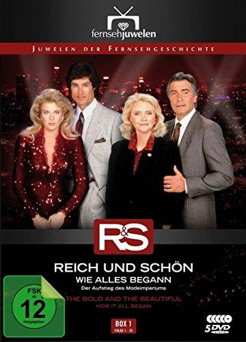 Reich und Schön Wie alles begann: Box  1, Folgen 1-25 (5 DVDs)