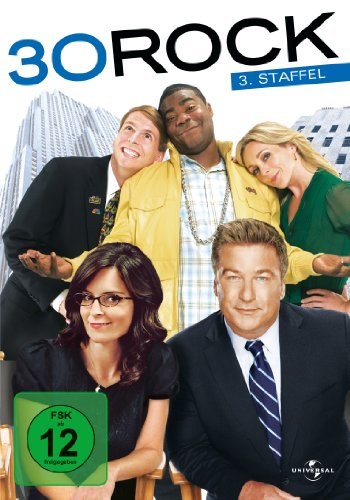 30 Rock Staffel 3 (3 DVDs)