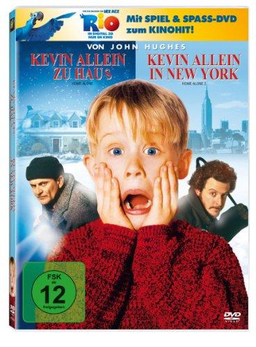 Kevin allein zu Haus / Kevin allein in New York (+ Rio Activity Disc) (2 DVDs)