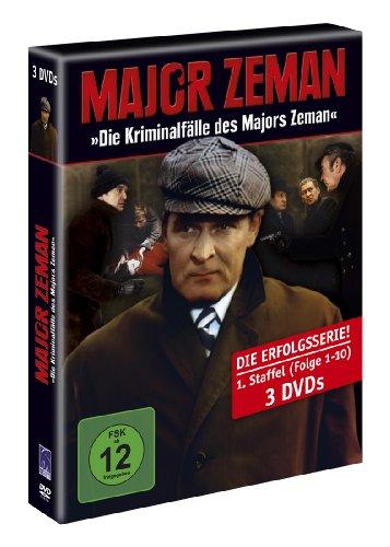 Major Zeman - Die Kriminalfälle des Majors Zeman - Staffel 1 (3 DVDs)