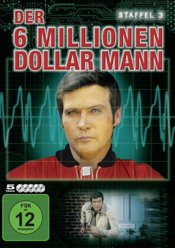 Der Sechs-Millionen-Dollar-Mann Staffel 3 (5 DVDs)