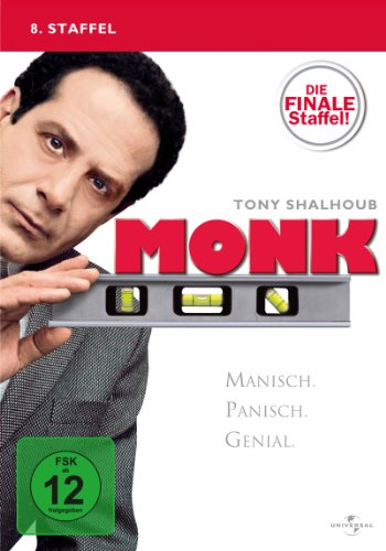 Monk Staffel 8 (4 DVDs)