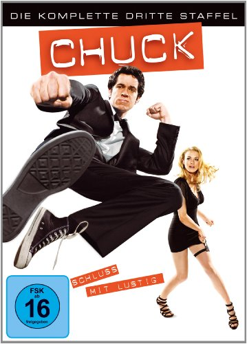 Chuck Staffel 3 (5 DVDs)