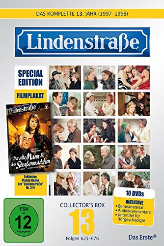 Lindenstraße Das komplette 13. Jahr (Ltd. Edition mit Filmplakat, 10 DVDs)