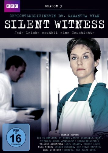 Silent Witness (Gerichtsmedizinerin Dr. Samantha Ryan) Staffel  3 (4 DVDs)