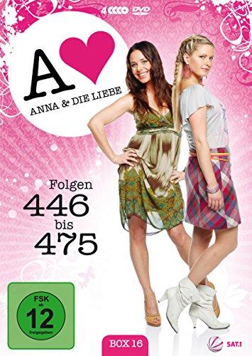 Anna und die Liebe Box 16, Folgen 446-475 (4 DVDs)