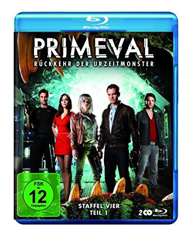 Primeval - Rückkehr der Urzeitmonster: Staffel 4.1 [Blu-ray]