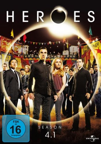 Heroes Staffel 4.1 (3 DVDs)