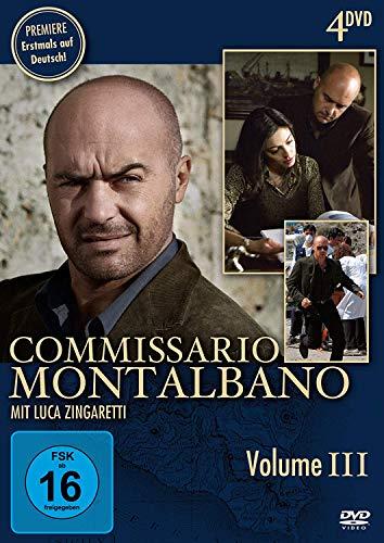 Commissario Montalbano, Vol. 3 (4 DVDs)