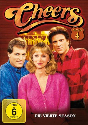 Cheers Season  4 (4 DVDs)