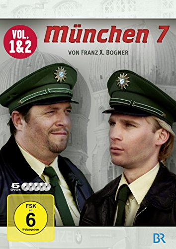 München 7 Staffel 1 und 2 (5 DVDs)