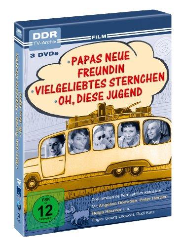 Papas neue Freundin/Vielgeliebtes Sternchen/Oh, diese Jugend (DDR TV-Archiv) (3 DVDs)