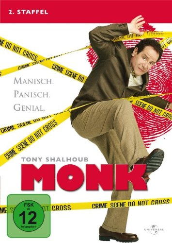 Monk Staffel 2 (4 DVDs)