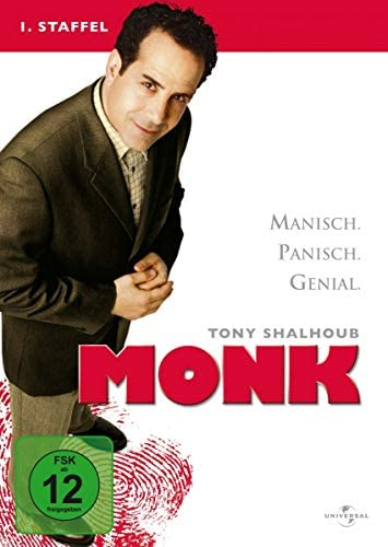 Monk Staffel 1 (4 DVDs)
