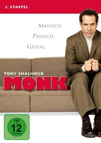 Monk Staffel 3 (4 DVDs)