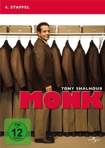 Monk Staffel 4 (4 DVDs)
