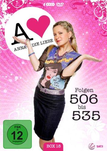 Anna und die Liebe Box 18, Folgen 506-535 (4 DVDs)
