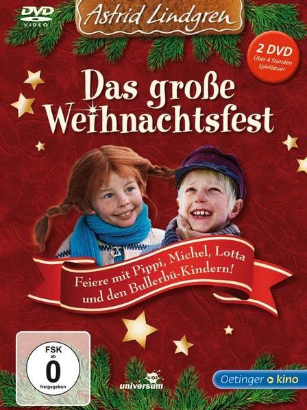 Astrid Lindgren - Das große Weihnachtsfest (2 DVDs)