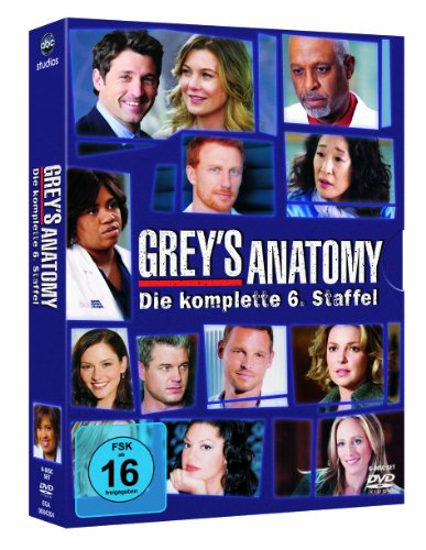 Grey's Anatomy - Die jungen Ärzte: Staffel  6 (6 DVDs)