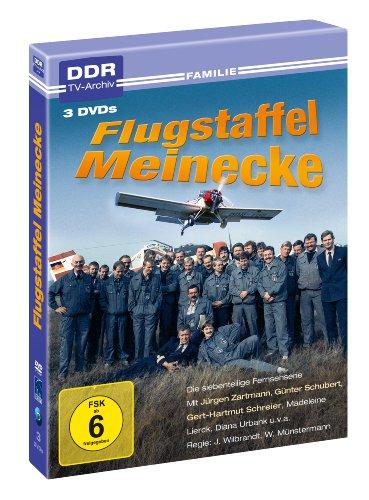 Flugstaffel Meinecke (DDR TV-Archiv) (3 DVDs)