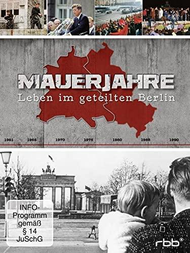 Mauerjahre - Leben im geteilten Berlin 3 DVDs