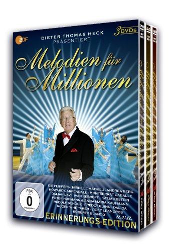 Melodien für Millionen Box, Vol. 1-3 (3 DVDs)