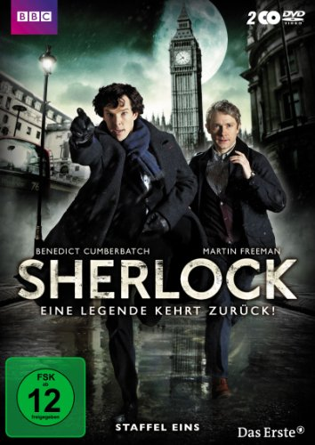 Sherlock Staffel  1 (2 DVDs)