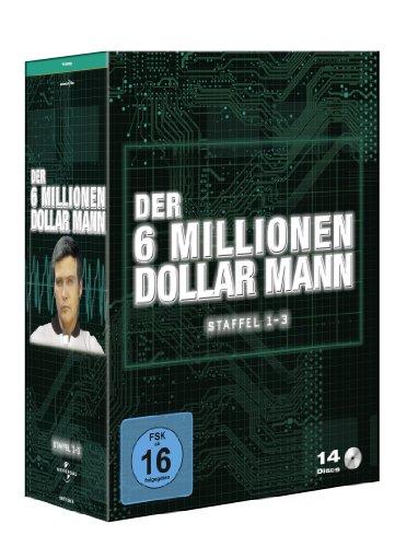 Der Sechs-Millionen-Dollar-Mann Staffel 1-3 (14 DVDs)