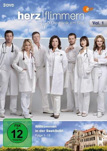 Herzflimmern Die Klinik am See, Vol. 1 (3 DVDs)