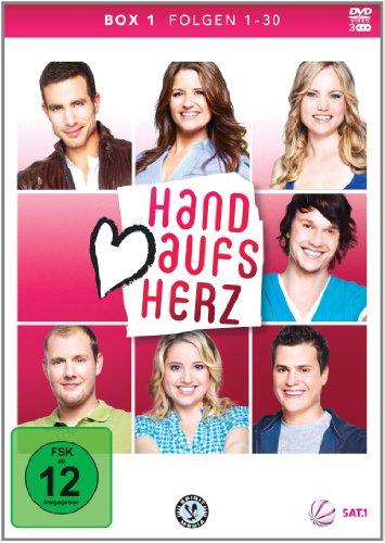 Hand aufs Herz Box 1: Folge 1-30 (3 DVDs)