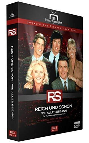Reich und schön Wie alles begann: Box  3, Folgen 51-75 (5 DVDs)