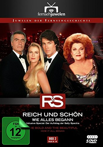 Reich und schön Wie alles begann: Box  2, Folgen 26-50 (5 DVDs)