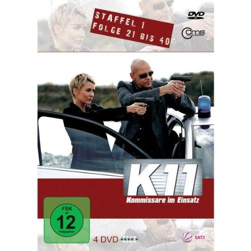 K11 Kommissare im Einsatz: Staffel 1, Folge  21-40 (4 DVDs)
