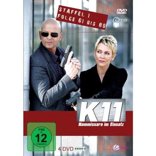 K11 Kommissare im Einsatz: Staffel 1, Folge  61-80 (4 DVDs)