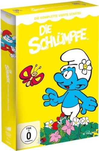 Die Schlümpfe Die komplette Staffel 4 (4 DVDs)