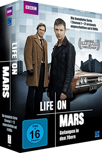 Life On Mars - Gefangen in den 70ern Season 1 & 2/Langfassung (8 DVDs)