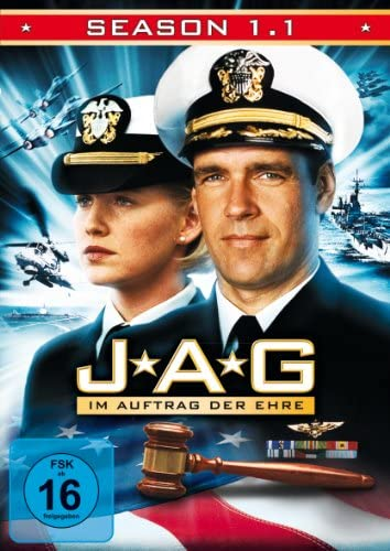 JAG Im Auftrag der Ehre - Season  1.1 (3 DVDs)
