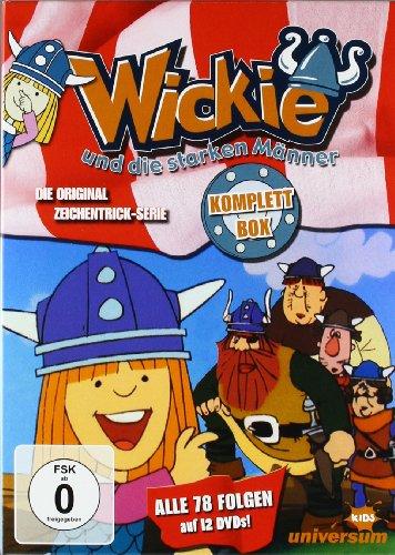 Wickie und die starken Männer   Komplett-Box (12 DVDs)