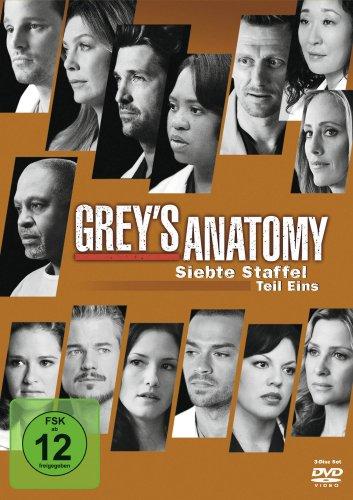 Grey's Anatomy - Die jungen Ärzte: Staffel  7, Teil 1 (3 DVDs)