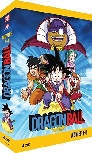 Dragonball Movies 1-4 (4 DVDs)