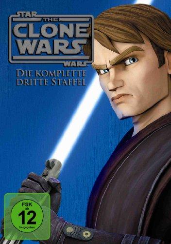 Star Wars - The Clone Wars: Staffel 3 (4 DVDs)