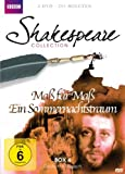 Shakespeare Collection, Vol. 4: Maß für Maß/Ein Sommernachtstraum (2 DVDs)