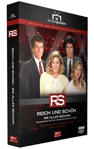 Reich und schön Wie alles begann: Box  4, Folgen 76-100 (inkl. Soundtrack) (5 DVDs)