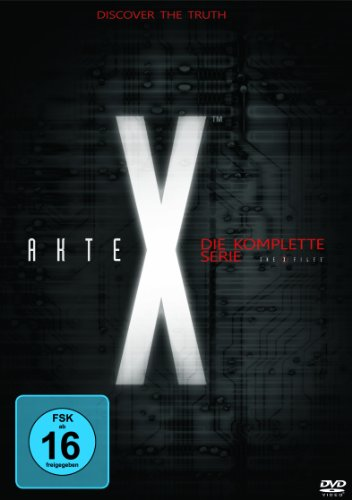 Akte X Seasons  1-9 (53 DVDs)
